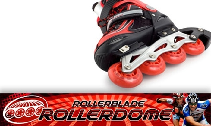 RollerDome - Downtown East: $5 for Skate Rental and Skating Pass for Rollerdome in the Metrodome