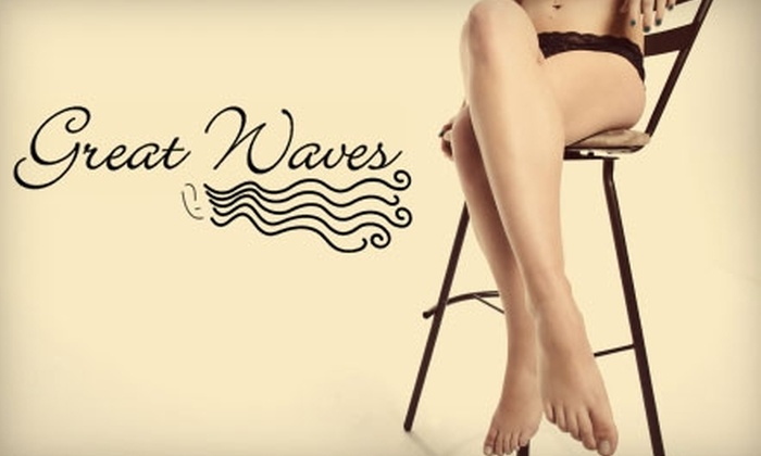 Great Waves Salon - Ward 2: $10 for $20 Worth of Waxing Services at Great Waves Salon