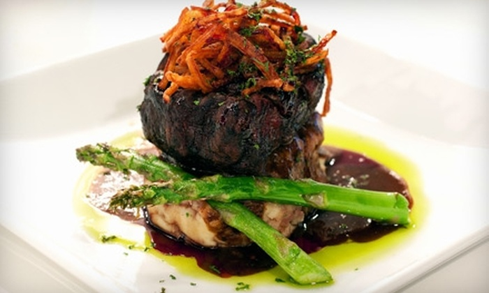 Addiction Restaurant - The Strip: $15 for $30 Worth of Contemporary American Fare and Drinks at Addiction Restaurant in the Rumor Boutique Hotel