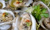 Asian Station - Upper East Side: Two-Dozen Oyster Meal or Sushi Meal for Two with Drinks at Asian Station (Up to 62% Off)