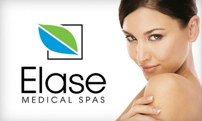 Elase Medical Spa - Multiple Locations: $99 for Laser Skin Resurfacing or Laser Skin Lightening at Elase Medical Spa (Up to $799 Value)