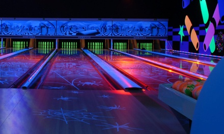 Two Games of Candlepin Bowling for 2 or 4, or a Birthday Party with Food for 10 at Leda Lanes (Up to 51% Off)