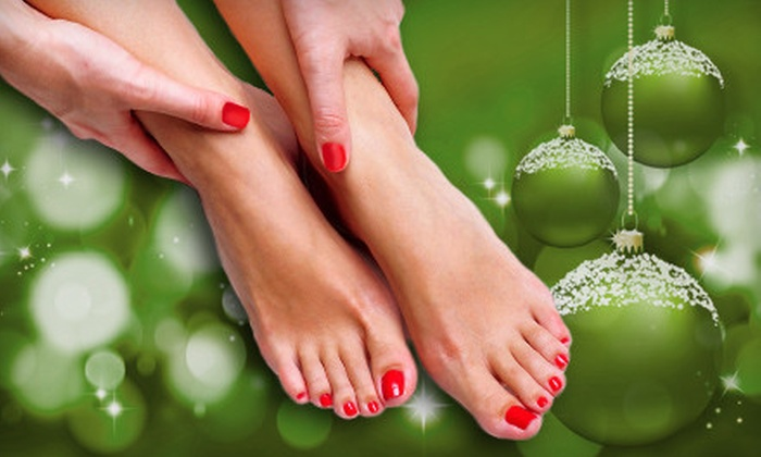 Zen Salon of Appleton - Appleton: Manicure or Mani-Pedi at Zen Salon of Appleton (Up to $75 Value)