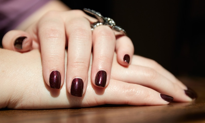 Nails By Christina - Professionally Yours Salon: One or Three Shellac Manicures at Nails By Christina (Up to 55% Off)