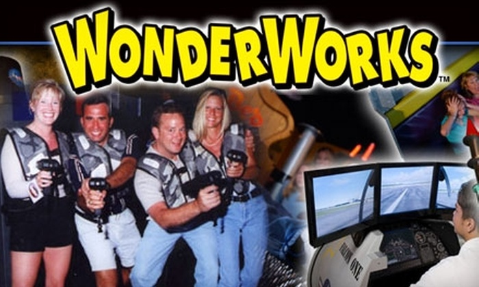 WonderWorks Orlando - Southwest Orange: $15 for Admission and Game of Lazer Tag at WonderWorks Orlando (Up to $29.81 Value)