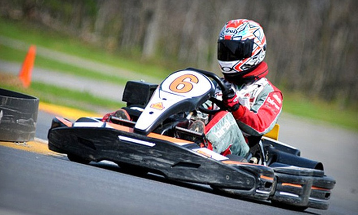 Summit Point Kart - Kabletown: Go-Karting Membership Package for Two or Eight at Summit Point Kart (Up to 56% Off)