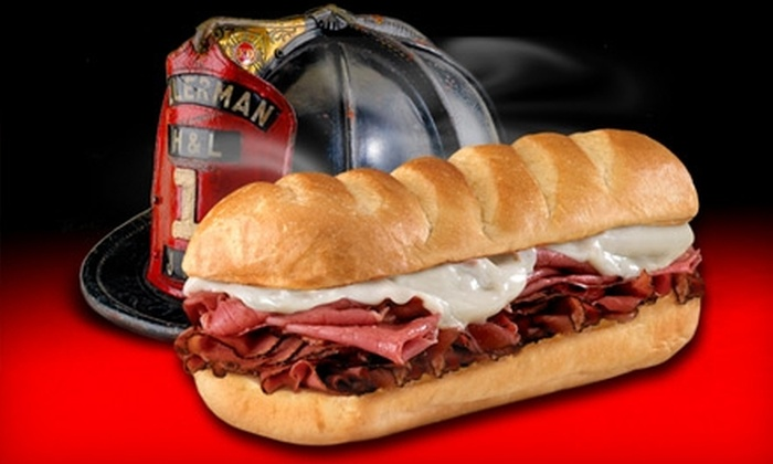 Firehouse Subs - Germantown: $6 for $13 Worth of Subs and More at Firehouse Subs