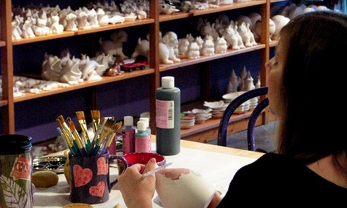 Third Coast Clay Ceramic Studio - Franklin: $15 for $30 Worth of Paint-It-Yourself Pottery at Third Coast Clay Ceramic Studio in Franklin