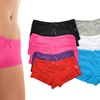 12-Pack of Angelina Women's Lace-Side Boxer Shorts