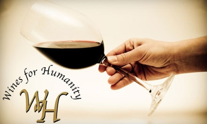 Wines for Humanity Illinois - Grand Rapids: $29 for an In-Home Wine Tasting Event For Up To 14 People with Wines For Humanity ($59 Value)