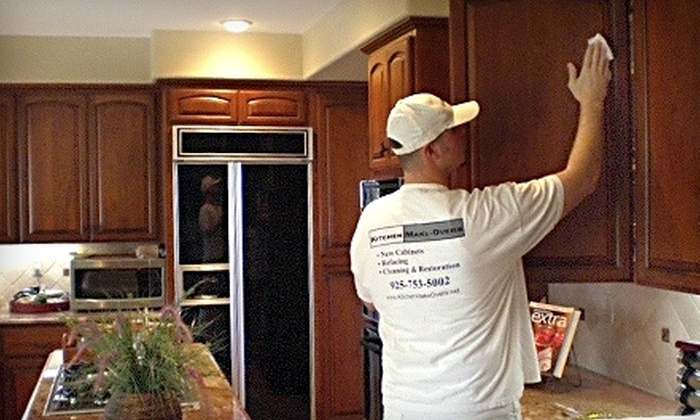 Kitchen Make-Overs - San Francisco: $100 for $200 Toward Cabinet Restoration and Other Services from Kitchen Make-Overs