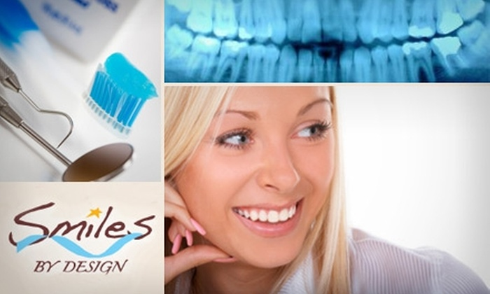 Smiles by Design - Coral Ridge Country Club Estates: $99 for a Dental Exam, X-rays, Teeth Cleaning, and Bleaching Kit with Custom Trays from Smiles by Design ($536 Value)