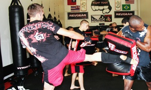 Fight Team, LLC.: 6 or 12 Cardio Kickboxing Classes at Fight Team, LLC. (Up to 62% Off)