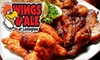 $10 for Wings at Wings and Ale of Lexington