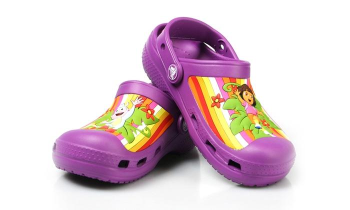 Groupon Pour Shopping Enfant Dora Crocs Vv8qo nFTAqdAw