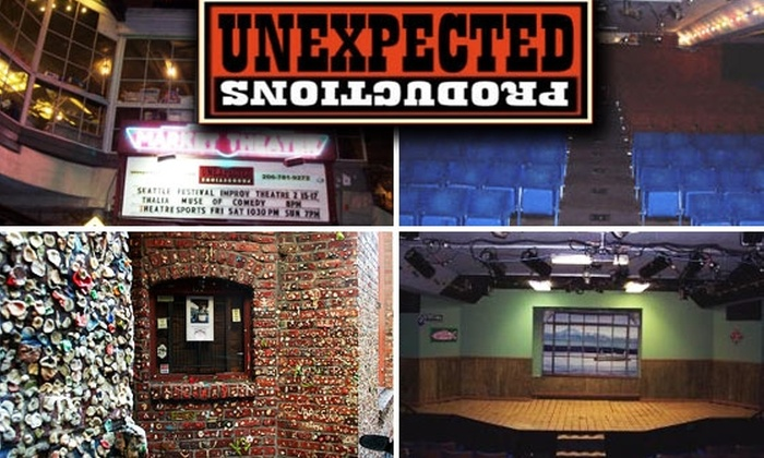 Unexpected Productions: Comedy & Improv - Pike Place  Market: $5 Theatresports Show Ticket at Unexpected Productions