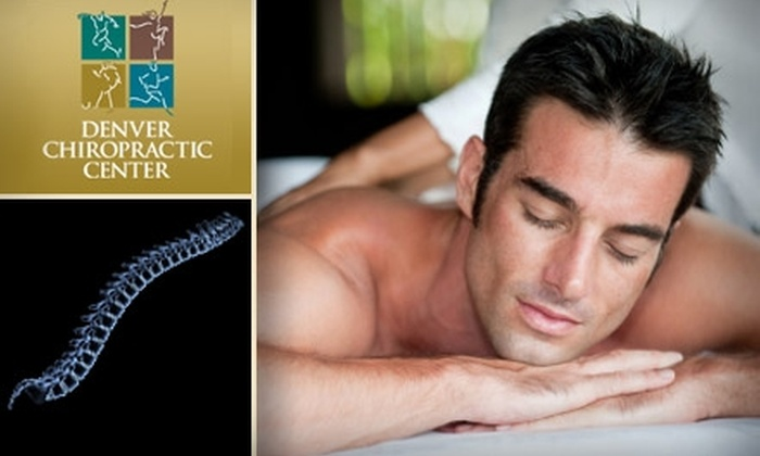 Denver Chiropractic Center - Virginia Village: $29 for One-Hour Massage and Soft-Tissue Treatment Session at Denver Chiropractic Center