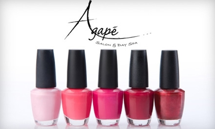 Agape Salon & Day Spa - Eaton Rapids: $40 for a Spa Pedicure and Basic Manicure at Agape Salon & Day Spa ($82 Value)