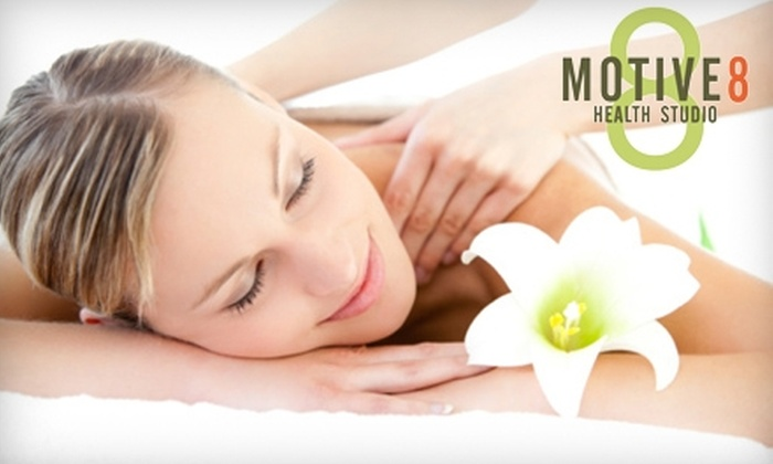 Motive 8 Health Studio - Downtown: $40 for a One-Hour Massage at Motive 8 Health Studio ($80 Value)
