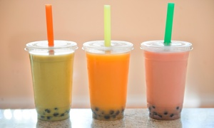 Sushi King and Boba Tea Zone: Bubble Tea at Sushi King and Boba Tea Zone (Up to 46% Off). Three Options Available.