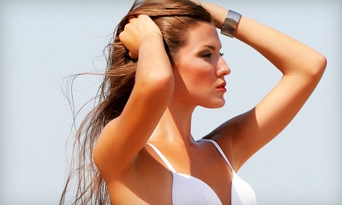The Tan Company - Berryfield,Downtown,Miller Addition: $35 for Two Custom Airbrush Tans at The Tan Company ($70 Value)