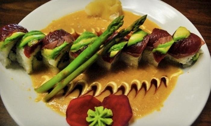 Wazabi Sushibar - Houston: $20 for $40 Worth of Sushi at Wazabi Sushi Bar in Humble