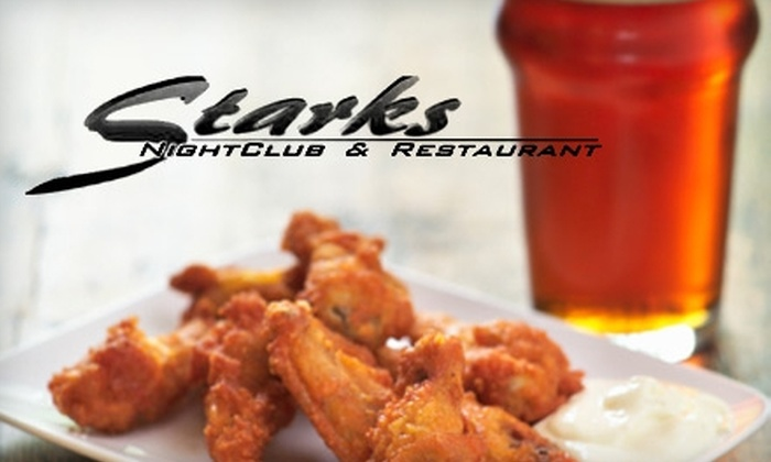 Starks Saloon - Eagan: $10 for $20 Worth of American Fare and Drinks at Starks Saloon in Eagan