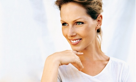 One or Three Laser Skin-Tightening Sessions at Begin with your Skin Medspa (Up to 73% Off)
