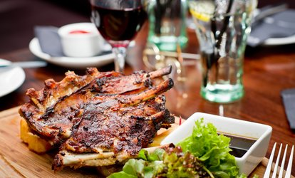 image for <strong>BBQ</strong> Rib Dinner for One at Ribs U.S.A.(44% Off)
