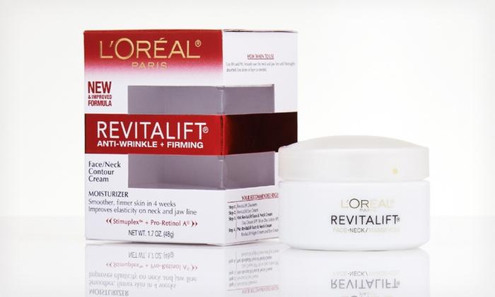L'Oréal Paris RevitaLift Wrinkle Cream: $8.99 for L'Oréal Paris RevitaLift Anti-Wrinkle and Firming Face and Neck Contour Cream ($16.99 List Price)