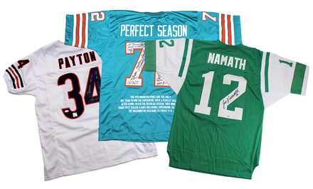 NFL Legends Autographed Jerseys from $134.99–$2,199.99