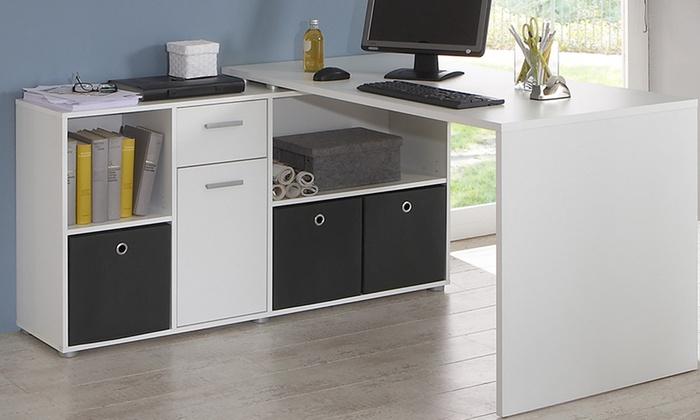 Awesome Flexi Corner Desk With Storage ...
