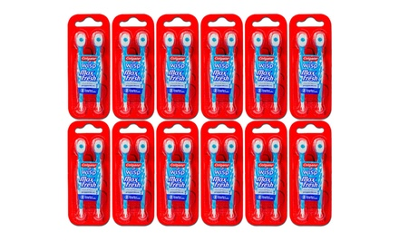 48-Pack of Colgate Wisp Peppermint Mini-Toothbrushes