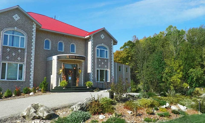 The Falls Inn & Spa - Walters Falls, ON: 1- or 2-Night Stay for Two with Spa Credit and Breakfast at The Falls Inn & Spa in Walters Falls, ON