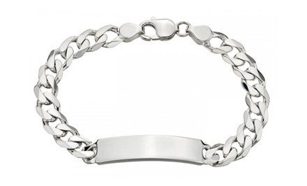 Solid Sterling Silver Men's Bracelets