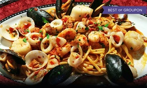 Tirami Su: Italian Dinner for Two or Four at Tirami Su (Up to 34% Off)