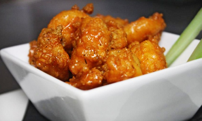 Wharfside Bar & Grill - Virginia Beach: $15 for $30 Worth of Eclectic Comfort Food at Wharfside Bar & Grill