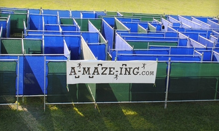 A-MAZE-ING - New Orleans: $185 for All-Day Maze Rental from A-maze-ing ($375 Value)