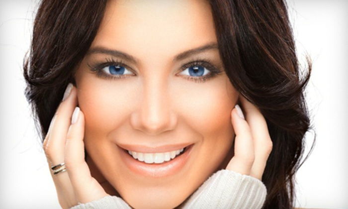 Salon 84 - Eugene: Essential Facial or Package with Facial and Izone Under-Eye Treatment at Salon 84 (Up to 56% Off)