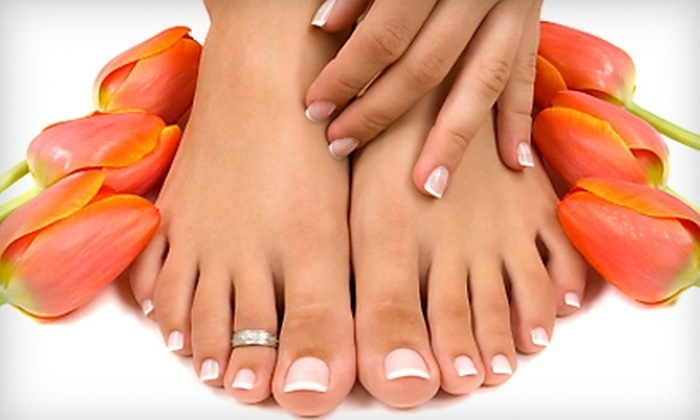 Ultra Lux Salon & Day Spa - San Diego: $26 for Manicure and a Euro-Spa Pedicure at Ultra Lux Salon and Day Spa (Up to $52 Value)