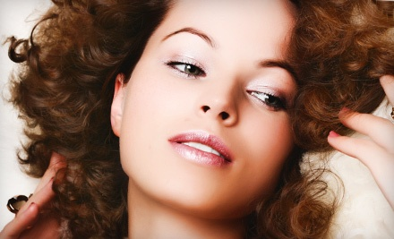Salon Package with Eyebrow Wax and 1 of 4 Available Mini-Facial Treatments (Up to a $45 value) - Bei Capelli Salon in Lubbock