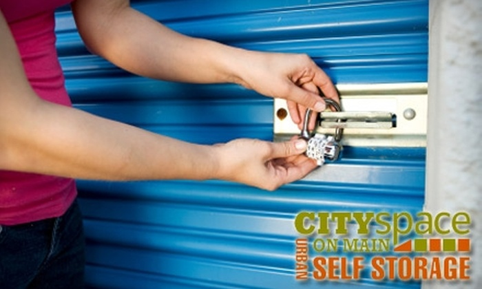 City Space on Main - Phoenix Hill: $25 for $175 Worth of Self-Storage and Administrative Fee at CitySpace on Main