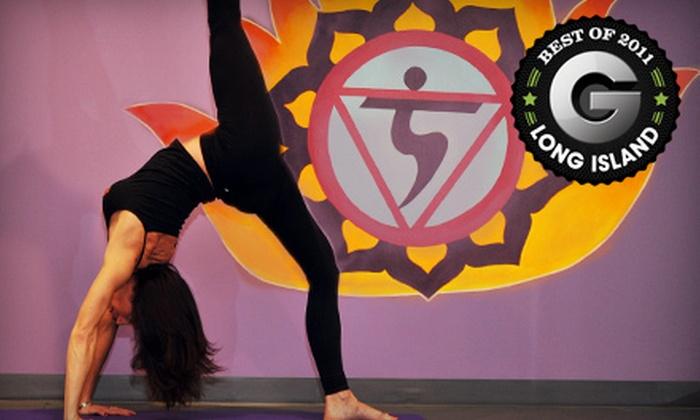 YogaFlex - Commack: $59 for 10 Hot-Yoga Classes at YogaFlex in Commack ($160 Value)