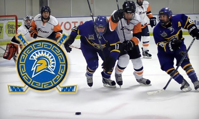 San Jose State Spartans - Central San Jose: $6 for Two Tickets to Any Regular-Season San Jose State Spartans Hockey Game at Sharks Ice (Up to $16 Value)