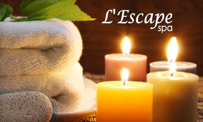 L'Escape Spa - Downtown: $50 for $100 Worth of Spa Services at L'Escape Spa in Burlingame