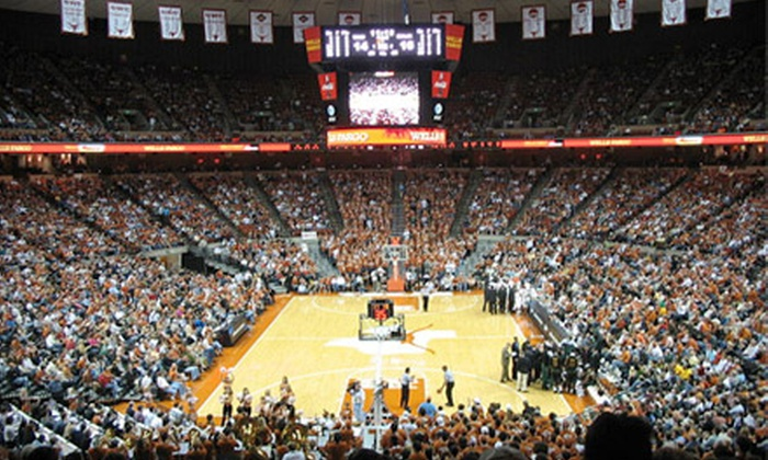 University of Texas at Austin Men's Basketball: $8 for Two Tickets to University of Texas at Austin Men's Basketball at Frank Erwin Center ($16 Value). Five Games Available.