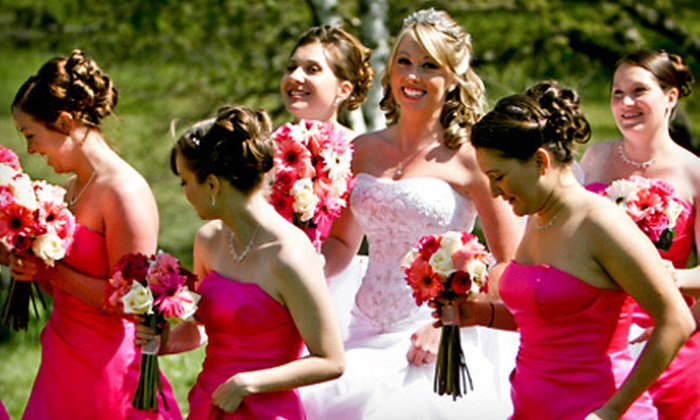 On-Site Bridal by Ashlee Griggs - Sylvania: Hair and Makeup for Bridal Party of 5 or 10 or Hair or Makeup for 7 from On-Site Bridal by Ashlee Griggs (Up to 56% Off)