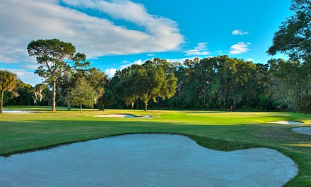 18-Hole Golf Outing for Two or Four with a Cart, Range Balls, and Drinks at Palatka Golf Club (Up to 54% Off)