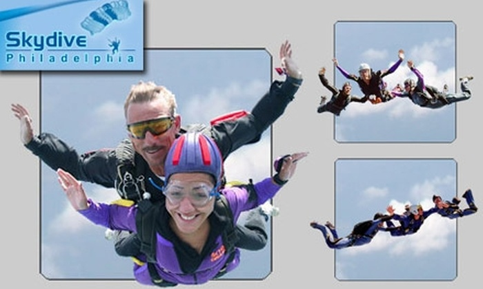 Skydive Philadelphia - Perkasie: $125 for a Tandem Jump with the Experts at Skydive Philadelphia