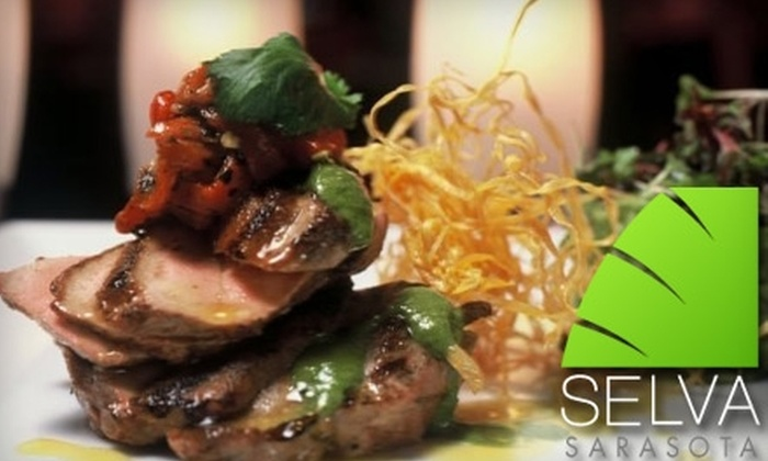Selva Grill - Main Street Merchants: $20 for $40 Worth of Latin Cuisine and Drinks at Selva Grill in Sarasota